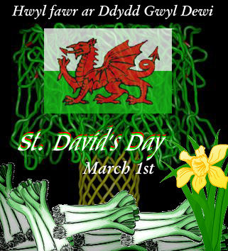 Doodle March 1 Wikipedia - Biography St. David's Day 2016 in Wales